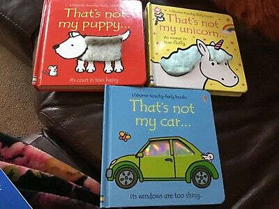 £4 • Buy That's Not My 3 Books Bundle Unicorn, Car And Puppy