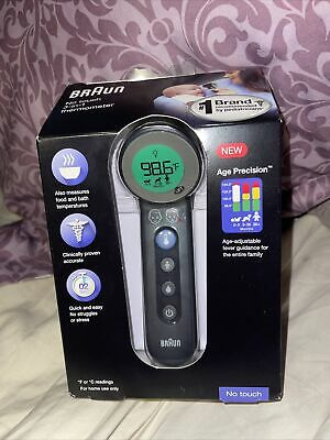 $ CDN40.07 • Buy NEW SEALED Braun No Touch 3-in-1 Home Thermometer BNT400 Age Precision Forehead