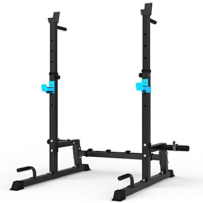 $ CDN233.32 • Buy JX FITNESS Squat Rack Multi-Function Barbell Rack Height Adjustable Dip Stand Up