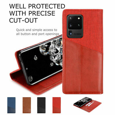 AU15.89 • Buy For Oppo A55 F17Pro A93 Reno 5 5Pro 5G 4SE A53S Flip Magnetic Leather Case Cover