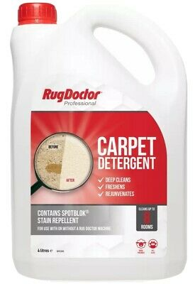 £34 • Buy Rug Doctor 4L Carpet Detergent, Shampoo Cleaner Deodorizes, Protects Solution