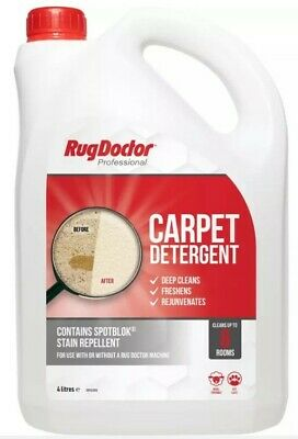 £34.99 • Buy Rug Doctor 4L Carpet Detergent, Shampoo Cleaner Deodorizes, Protects Solution