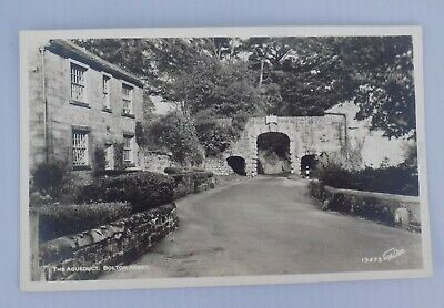 £2.99 • Buy Vintage Postcard The Aqueduct, Bolton Abbey, Skipton, North Yorkshire. Unposted