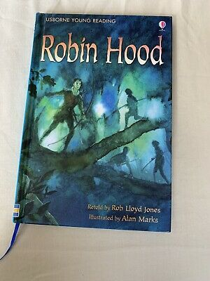 £1.10 • Buy Usborne Young Readers Robin Hood Young Reading Series Two By Rob Lloyd Jones