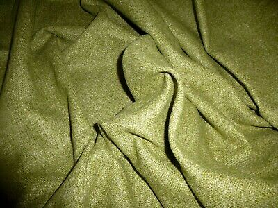 £5.99 • Buy Gorgeous  Wool Blend Fabric Remnant Colour Moss