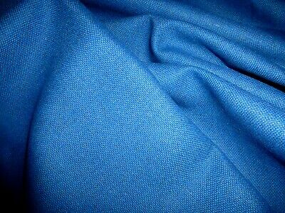 £5.99 • Buy Gorgeous  Wool Blend Fabric Remnant Colour Turquoise.