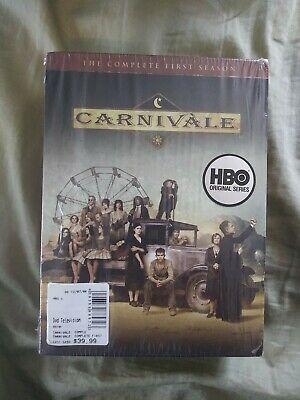 £2.12 • Buy Carnivale - The Complete First Season (DVD, 2004, 6-Disc Set)
