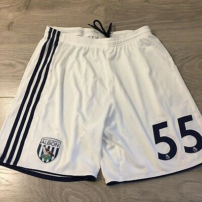 £10 • Buy West Bromwich Albion Shorts With 55 On The Front