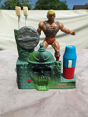 $299.99 • Buy He-Man Talking Tooth Brush, 1984 Mattel, COMPLETE, VOICE WORKS