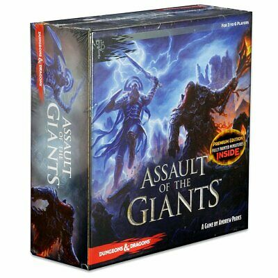 AU160.34 • Buy Dungeons & Dragons: Assault Of The Giants Board Game Premium Edition