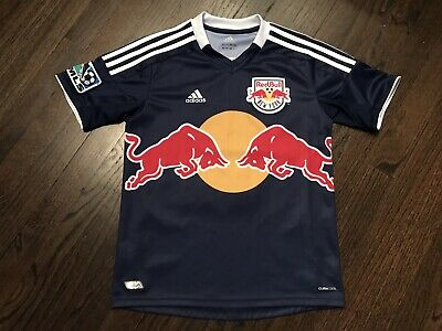 £28.32 • Buy VINTAGE Thierry Henry New York Red Bulls Jersey YOUTH Medium Adidas Shirt France