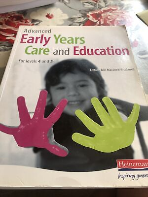 £3.40 • Buy Advanced Early Years Care And Education