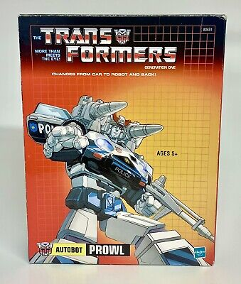 £50 • Buy Transformers Prowl Generation 1 Hasbro Reissue 100% Complete