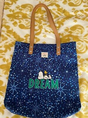 £5.50 • Buy Cath Kidston Limited Edition Snoopy Book Bag