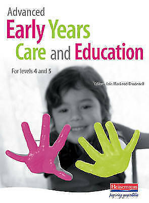 £2.30 • Buy Advanced Early Years Care And Education (for NVQ 4 And Foundation Degrees) By...