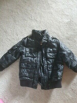 £8 • Buy Boys Next Faux Leather Jacket  Age 12-18 Months