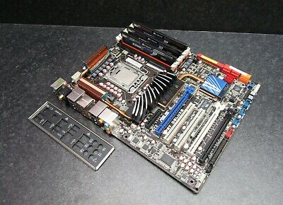 $ CDN257.82 • Buy ASUS P6T Deluxe LGA1366 ATX Motherboard X58 Chipset With I7-920 6GB RAM And IO