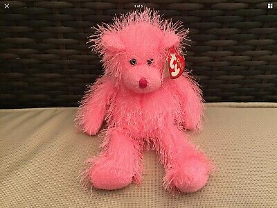 £3.99 • Buy Ty Punkies Static The Pink Bear 2003, Soft Toy Gift, Retired, With Tag, VGC