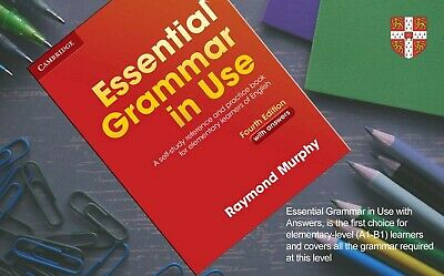 £19.39 • Buy BEST PRICE / Cambridge ESSENTIAL GRAMMAR IN USE With Answers 4 Edition