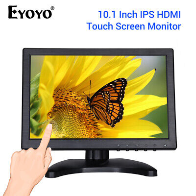 £96.98 • Buy EYOYO 10  Inch Touch Screen HDMI IPS Monitor With VGA USB HDMI Input For CCTV~