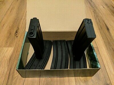 $29.97 • Buy (Lot Of 5) King Arms Airsoft 120 Rounds Metal Magazines For M4/M16 AEG Series