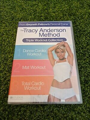 £12.95 • Buy Tracy Anderson Method Triple Workout Collection (3 X DVD Boxset) NEW & SEALED