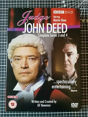 £3 • Buy Judge John Deed - Series 3 And 4 -  BBC Dvds - Martin Shaw