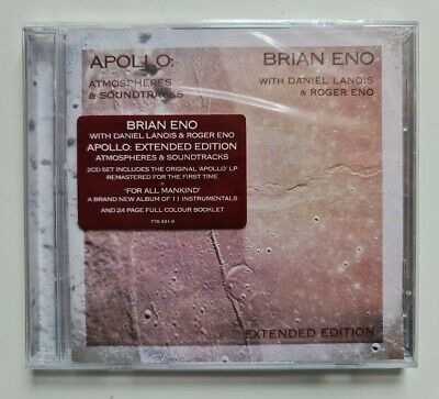 £7.99 • Buy Brian Eno - Apollo Atmospheres & Soundtracks - Extended Edition 2 CD NEW SEALED
