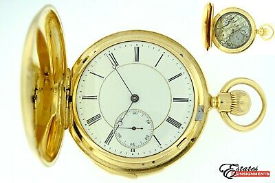 £10418.91 • Buy High Grade Minute Repeater 18k Yellow Gold Jaeger LeCoultre Unstamped