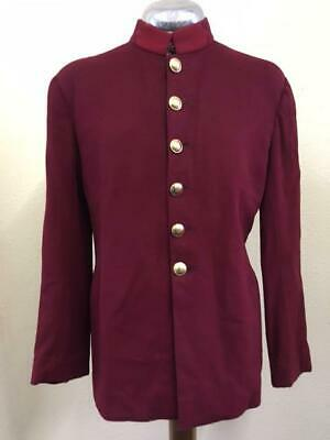 £35 • Buy Maroon Period Military Style Tunic