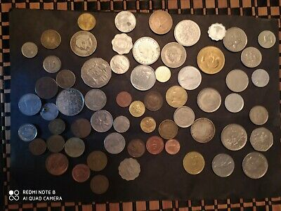 £4.99 • Buy Big Pile Of Mixed Foreign Coins