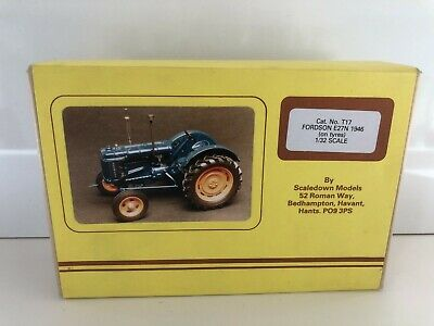£79.95 • Buy T17 Scaledown Models 1/32 1946 Fordson E27n (on Tyres) Tractor Metal Kit > Rare