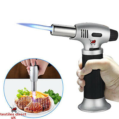 £8.95 • Buy New Butane Gas Blow Torch Burner Flame Thrower Camping Welding BBQ Auto Ignition