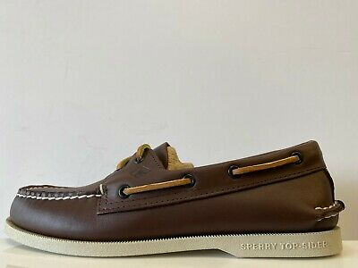£54.99 • Buy Sperry Top Sider Leather Boat Shoes Mens UK 7.5 REF M1092=