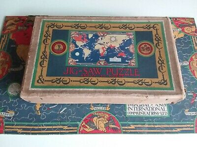 £19.50 • Buy Vintage Chad Valley Wooden Jigsaw Puzzle. Imperial Advertising.Complete.