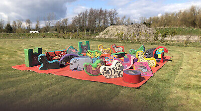 £500 • Buy Outdoor Indoor Kids Soft Play Area Mat With Animal Interaction 5.3x5.3m