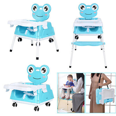 £27.89 • Buy 5 In 1 Baby High Chair Kids Toddler Infant Feeding Recliner Seat Chair Foldable
