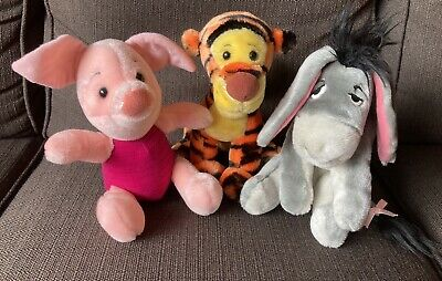 £3 • Buy Soft Toys Bundle New Without Tags Piglet Tigger Eeyore