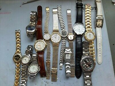 £10.51 • Buy Joblot Of Ladies And Gents Watches Spares Or Repair Rotary Sekonda Fila Accurist