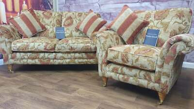 £1080 • Buy Parker Knoll Burghley C U B A 2 Piece Suite (2 Seater Sofa & Armchair) Rrp £2440