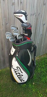 AU580 • Buy Titleist Golf Package 704.CB Forged Irons 910D2 Driver 913H Hybrid & Bag