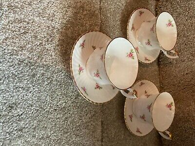 £1.90 • Buy Bone China English Teacups And Saucers For 3