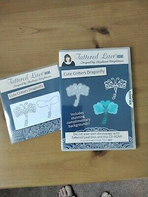 £2 • Buy Tattered Lace 'Cute Critters Dragonfly' Die And CD-ROM