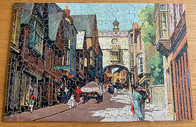 £45 • Buy Vintage 1933-39 Boxed G.w.r Chad Valley Wooden Jigsaw Puzzle Historic Totnes