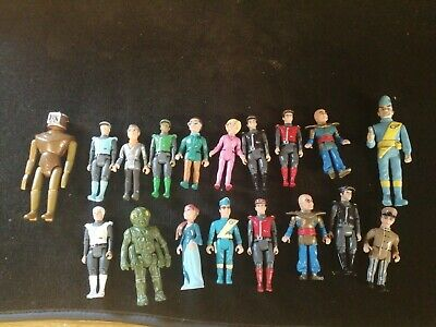 £17 • Buy Matchbox Thunderbirds Figures Job Lot Some Hard Ones To Get Sold As One Lot Look