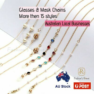 AU4.88 • Buy Sunglasses Reading Glasses Neck Cord Lanyard Mask Chain Spectacle Holder String