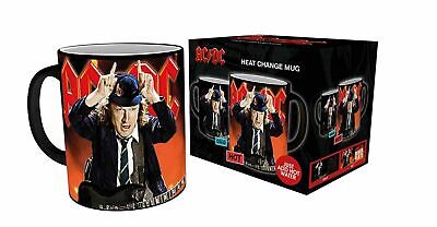 £10.57 • Buy AC/DC River Plate Live Angus Young Devil Horns Heat Changing Cermaic Coffee Mug