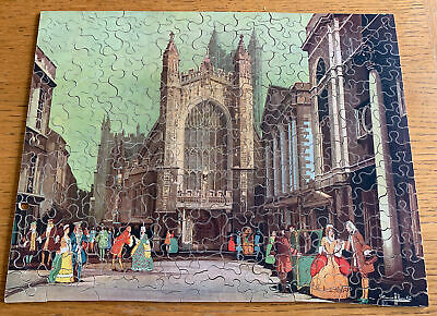 £20 • Buy Vintage Chad Valley G.w.r. Wooden Jigsaw - Bath Abbey / Cathedral Complete