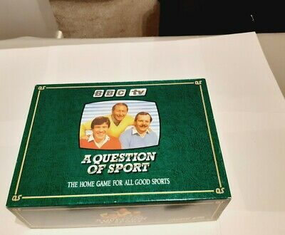 £99.99 • Buy A Question Of Sport Board Game - 1986 Mike Tyson Rookie Card Included Complete