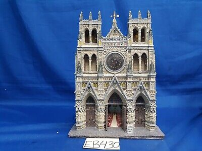 $ CDN34 • Buy Lemax Village Collection St. Patrick's Cathedral Facade #95916 As Is EB430